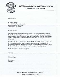 letters of appreciation nyfaa